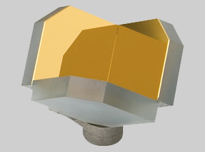 Hard-Mounted Hollow Retroreflector™ (HMHR)