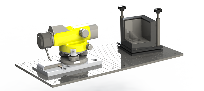 Tool Cube and Autocollimator