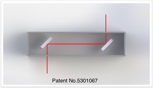 LTHP beam diagram art with patent